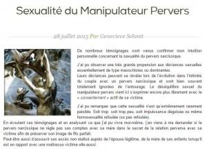 Sexualité du Manipulateur Pervers