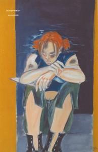 Autoportrait réalisé par Plume en 1999 ...