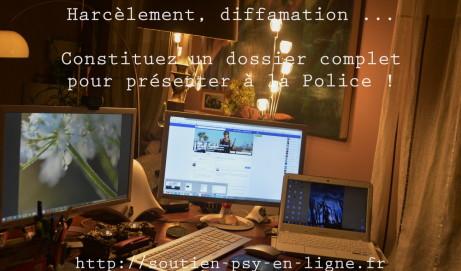 Cyber harcèlement