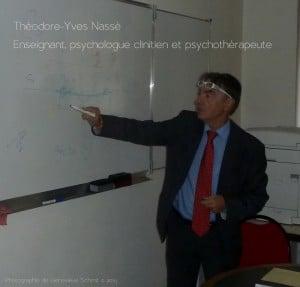 Théodore-Yves Nassé, psychologue, psychothérapeute, criminologue et enseignant