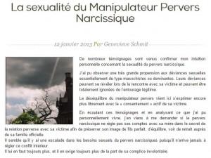 La sexualité du manipulateur pervers narcissique