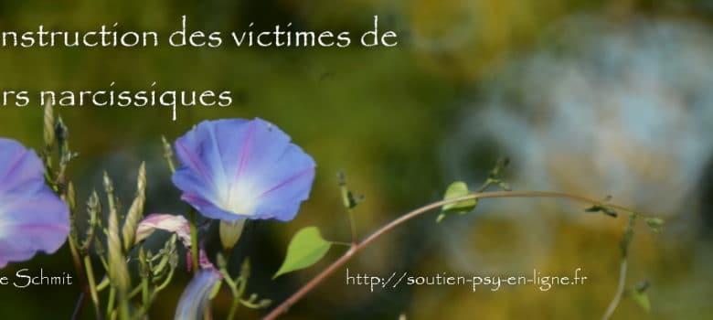 La reconstruction des victimes de pervers narcissiques - Geneviève Schmit
